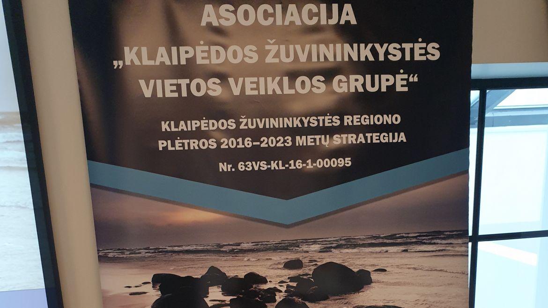 """Įvyko renginys """"Europos Sąjungos parama Klaipėdos žuvininkystės regionui"""""""
