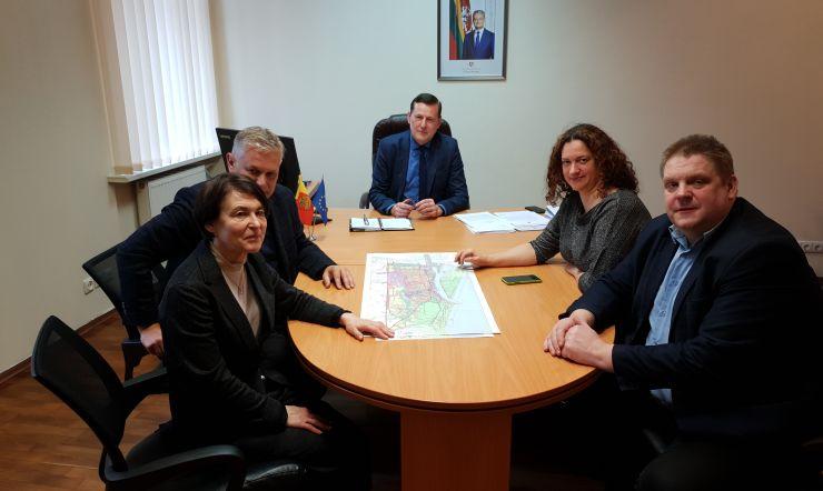 2020 m. vasario 20 d. įvyko pasitarimas dėl KŽVVG paramos skyrimo Klaipėdos miesto savivaldybės objektams galimybių
