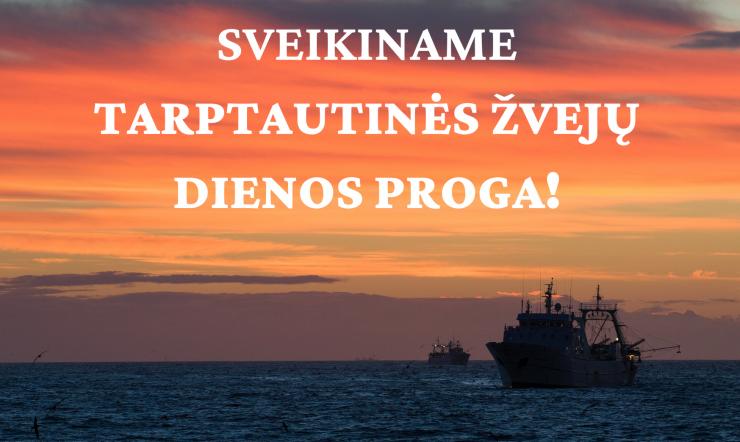 Birželio 27 d. – Tarptautinė Žvejų diena